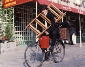 Ch na rower.z drabiną Lekkie