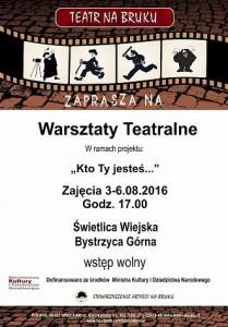 Warsztaty Bystrzyca